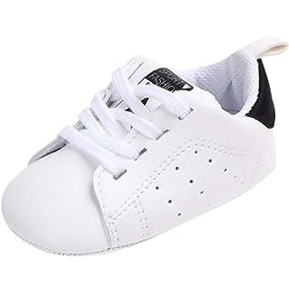 Zapatos para beb/é Auxma La Zapatilla de Deporte Antideslizante del Zapato de Lona de la Zapatilla de Deporte para 3-6 6-12 12-18 M