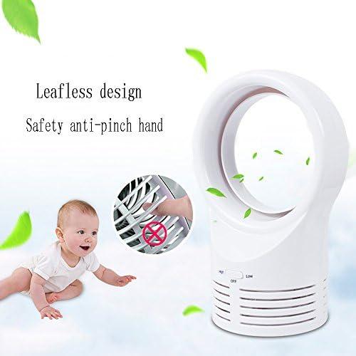LiuJianQin Electric fan ZXQZ Ventilatore per Uso Domestico Ventilatore da Tavolo Mini Ventilatore Senza Lama Ventilatore Elettrico