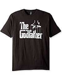 Men's Godfather Distressed Logo T-Shirt