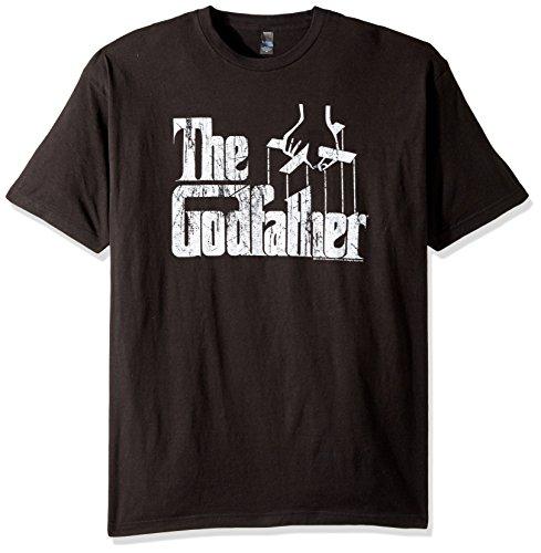 317fc08d Amazon.com: American Classics Men's Godfather Distressed Logo T-Shirt:  Clothing
