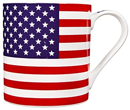 American Coffee MugStoneware17 Flag Essentials Home Ounce PkXTiuOZ