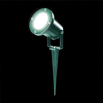 E506451 - Foco para jardín, color verde: Amazon.es: Electrónica