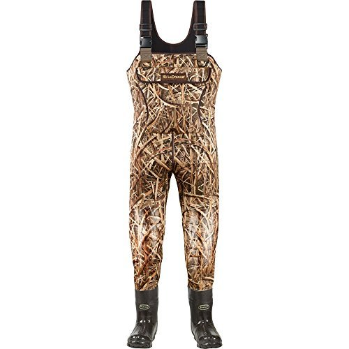 - Lacrosse Waders Super Brush Tuff Mossy Oak Shadow Grass Blades 1200G (700150) | Waterproof | Insulated Modern Comfortable Hunting Combat Boot Best for Mud, Snow (Medium = 14)