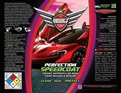 Pearl Nano Set Aus Keramik Speedcoat Max Wax Innenraum Detailer Auto