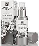 Face Serum Best - Voibella Advanced Anti-Aging Vitamin C Facial Serum - Best Natural Anti Wrinkle Face Serum For Women: Hydrating, Smoothing, Tightening, Firming, Pore Min & Anti Blemish (BONUS E-Book & Consultation)