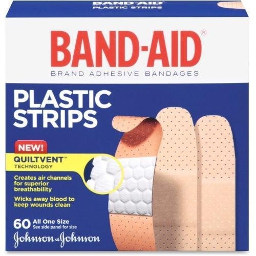 (5635 Band-Aid Plastic Bandages - 0.75