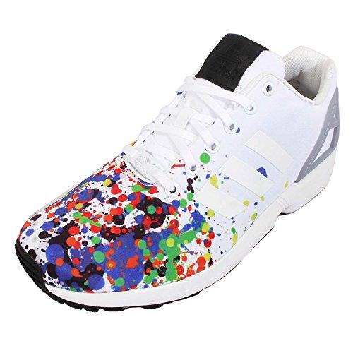 Mgh Flux Gris Solide Blanc De Ftwr Chaussures Zx Adidas Herren Sport WqU1czCv