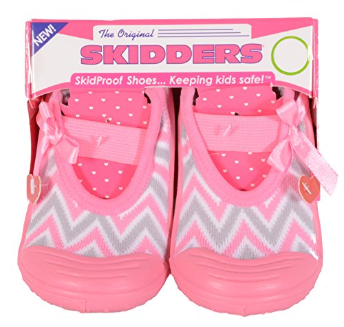 Skidders Baby Toddler Girls Mary Jane Shoes Style #XY4152 (6) 18 Months by Skidders