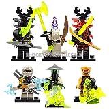 zane book package - New 12 Custom Minifigures Set Lots Ghost Yang Nya Zane Llyod Kai lE go