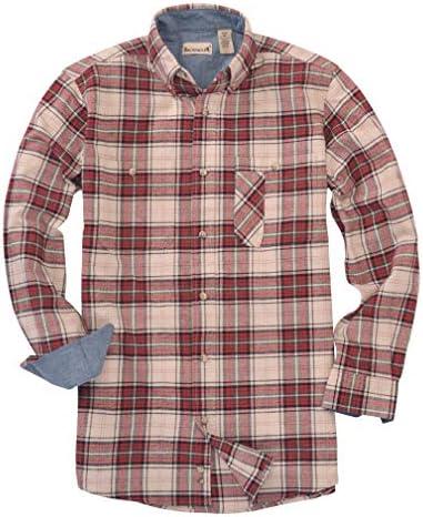 Backpacker Mens Wrinkle Free Micro Check Shirt