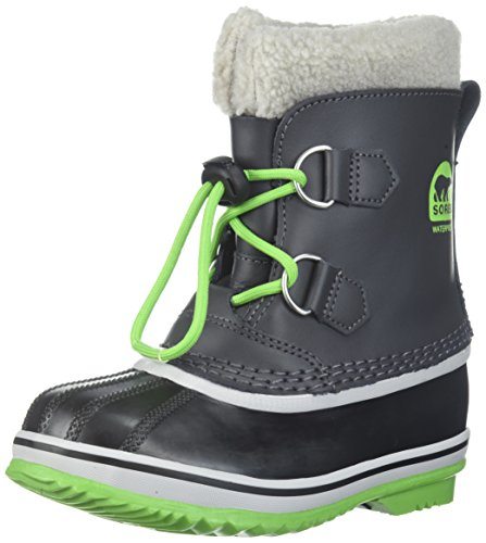 Sorel Unisex-Kids Childrens Yoot Pac TP, Shark, Cyber Green, 9 M US Little Kid ()