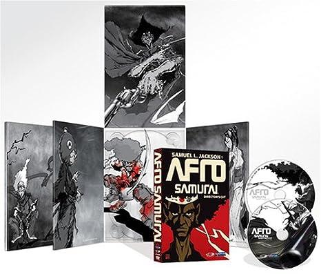 Amazon.com: Afro Samurai (Directors Cut): Samuel L. Jackson ...