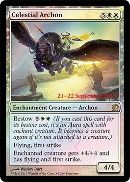 Amazon.com: Magic: the Gathering - Celestial Archon (3/249 ...