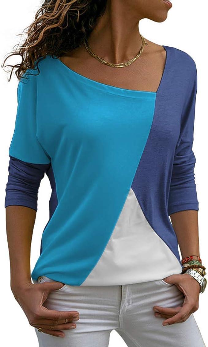 Amazon.com: I2CRAZY Camisas para mujer, blusas de mangas de ...