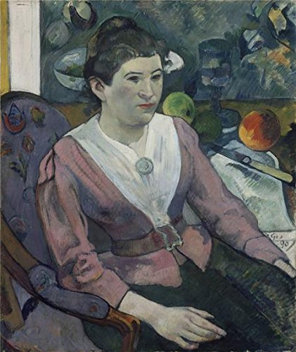 In Stock Jazz Costumes (Oil Painting 'Paul Gauguin-Woman In Front Of A Still Life By Cezanne,1890' Printing On High Quality Polyster Canvas , 16x19 Inch / 41x48 Cm ,the Best Gift For Girl Friend And Boy Friend And Home Gallery Art And Gifts Is This Reproductions Art Decorative Prints On Canvas)