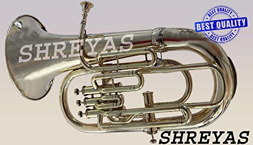 SHREYAS Bb Euphonium BRASS POLISH 4 Valve by SHREYAS