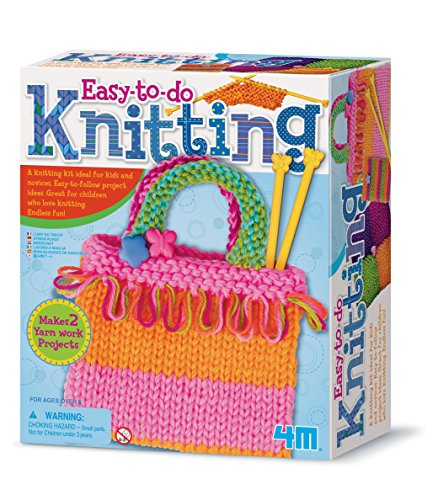 4M Knitting Art Kit