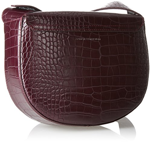 French Connection Contemp Slide Lock Magda Bag - Borse a tracolla Donna, Mehrfarbig (Chc Chil Croc/brsd G), 7x19x23 cm (B x H T)