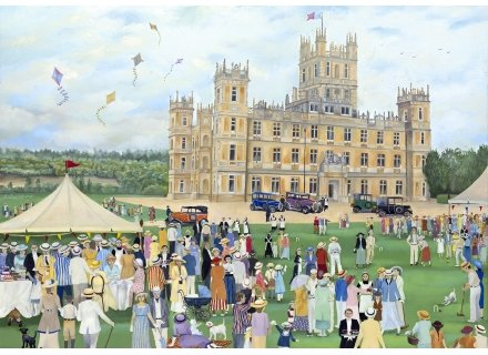 Highclere Castle 500 Piece Wooden Jigsaw Puzzle