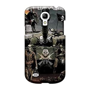 Shock Absorption Hard Phone Covers For Samsung Galaxy S4 Mini (rbd2810pZyB) Custom High Resolution Iron Maiden Image