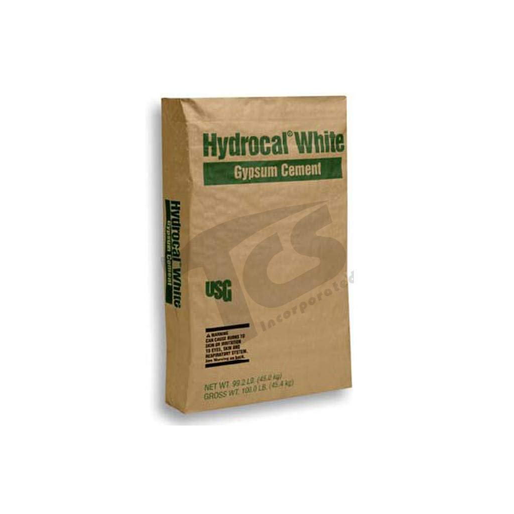 USG Hydrocal White Gypsum Cement 25 lbs - for Sculpture, Mold Making, Hollow and Solid Castings