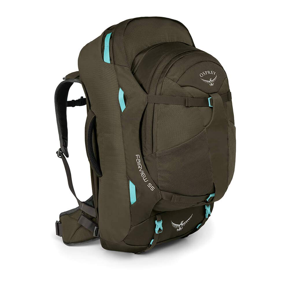 Osprey Fairview 55 Womens Travel Pack with 13L Detachable Daypack - Misty Grey (WS/WM): Amazon.es: Deportes y aire libre