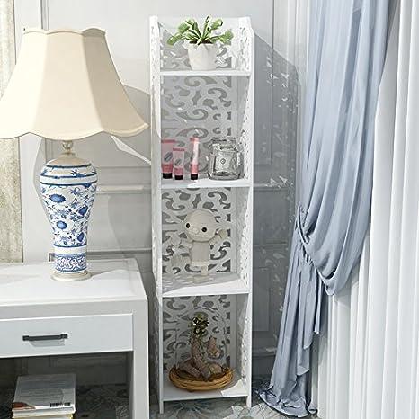 lfnrr alta calidad impermeable al agua de cuarto de baño cesta cesta de baño almacenaje estante cuarto de baño salón dormitorio sala de baño toalla ...