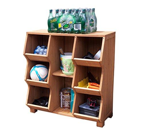 MRRY-MPGEF01L-Stackable-Wooden-Cubby-Storage-Unit  sc 1 st  eBay & MRRY-MPGEF01L-Stackable Wooden Cubby Storage Unit 692617638075 | eBay