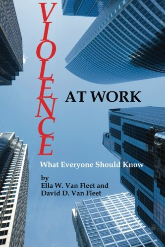 Download Violence At Work: What Everyone Should Know pdf