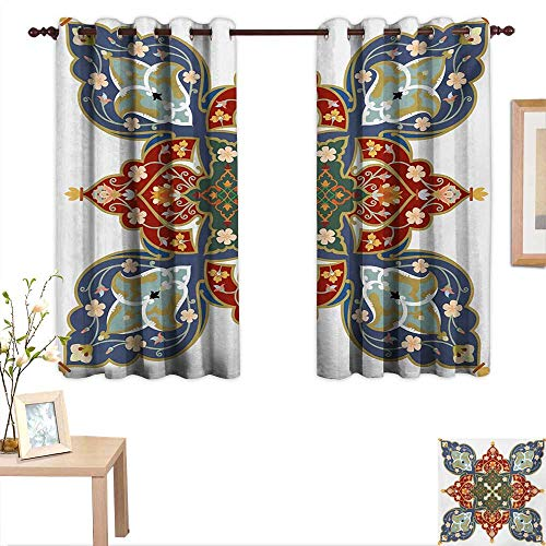 Oriental Drapes for Living Room Turkish Ottoman Arabic Eastern Design Flowers Moroccan Image 63