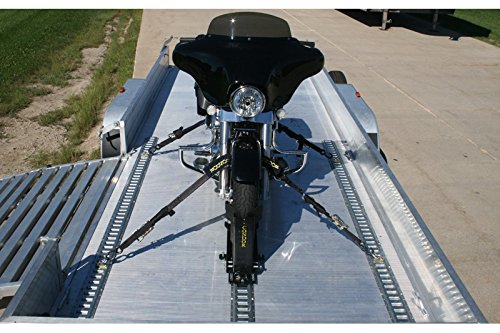 - Condor Motorcycle E-Track Trailer Package for Trailer Stand, Wheel Chock