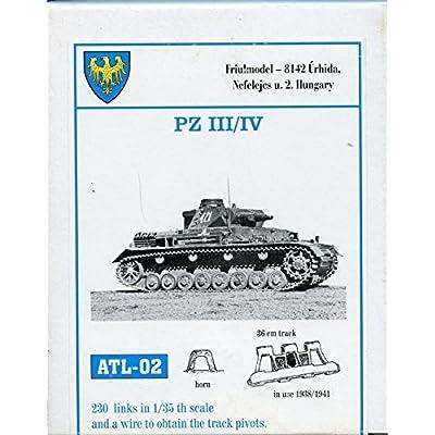 Friulmodel ATL02 1/35 Metal Track Link Set for Pz.III A-G & Pz.IV A-D. 36cm width: Toys & Games