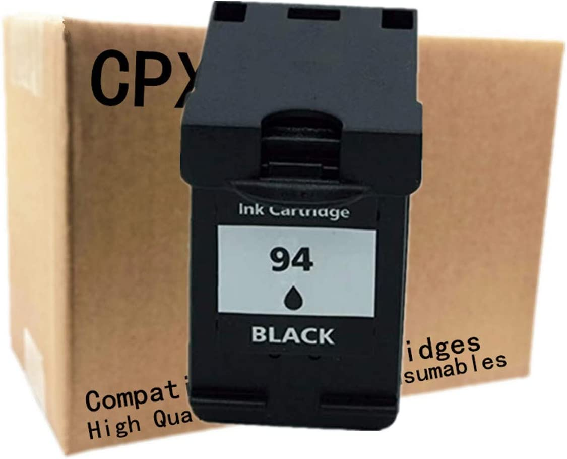 No-name Remanufactured Ink Cartridges Replacement for HP 94 XL 94XL HP94 HP94XL Photosmart 2610 2710 7830 8150 8450 8750 375 325 Officejet 6210 7210 7410 Printer (1 Pack)