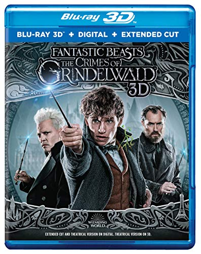 (Fantastic Beasts: The Crimes of Grindelwald (HD3D-Blu-ray + Digital))