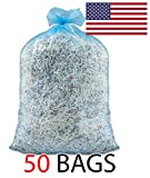 Ox Plastics 55 Gallon Recycle Bags, 36 X 52, 1.5 mil Strength, MADE IN USA (50, Blue)