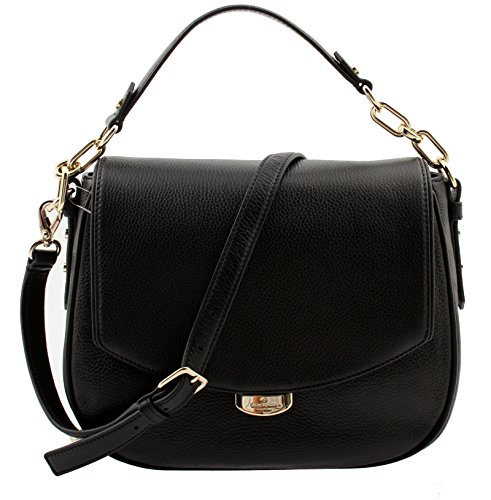 Kate Spade Mulberry Street Alecia Pebbled Black Leather Shoulder Bag, WKRU3926-001 by Kate Spade New York
