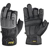 Snickers 95860448011 Power Open Gloves, 11, Black/Grey