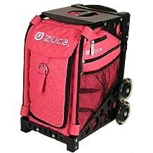 ZUCA SIBHP200 Sport Insert Bag Hot Pink Quilted Hot Pink W Rhinestones / 8905...