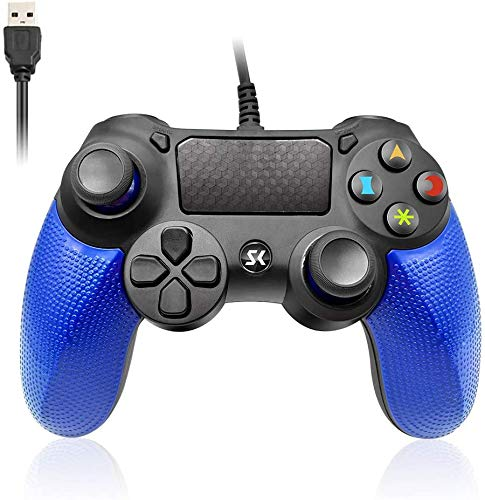 PS4 Controller Wired Double Vibration Shock Gaming joystick PS4 Wired Controller Remote for PlayStation 4/PC/PS4 Pro…