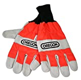 Oregon Large Chain Saw Safety Gloves.