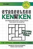 Stressless KenKen: 200 Mind-stimulating Logic Puzzles That Make You Smarter (Volume 1)