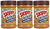 Skippy Natural Peanut Butter - Super Chunk ,15 Ounce , 3 Count