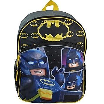 LEGO Mochila - Batman Logotipo de Cara DE 40,6 cm Nuevo BLEGB: Amazon.es: Juguetes y juegos