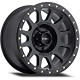 Method Race Wheels NV Matte Black Wheel with Zinc Plated Accent Bolts (18x9