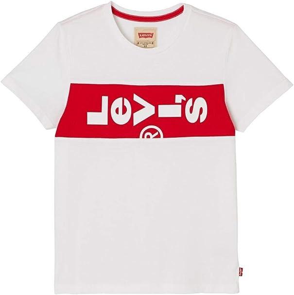 Camiseta Levis XLazy Blanca para Niño 2A Blanco: Amazon.es: Ropa y accesorios