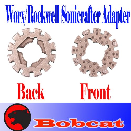 Adapter for Worx / Rockwell Sonicrafter Oscillating Multi Tool Fit to Universal Blade Rk5102k Rk 5101k Rk4108k Rk2514, Outdoor Stuffs