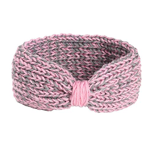 Fikole Bohemian Style Children Knotted Wool Knit Headband Cute Wrapped Hair Accessories Hair Accessories from fikole