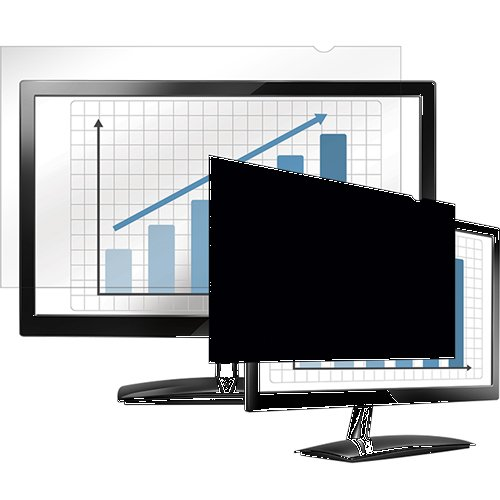 FELLOWES MANUFACTURING PrivaScreen Blackout Privacy Filter for 19'' LCD/Notebook (4800501)