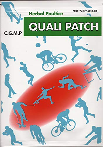 Quali Patch - Quali Herbal Poultice Pain Relief Patch - 5 Pack - 3 sheets per pack