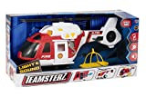 Teamsterz 1416392 Light and Sound Fire Helicopter Toy, 3-6 Years